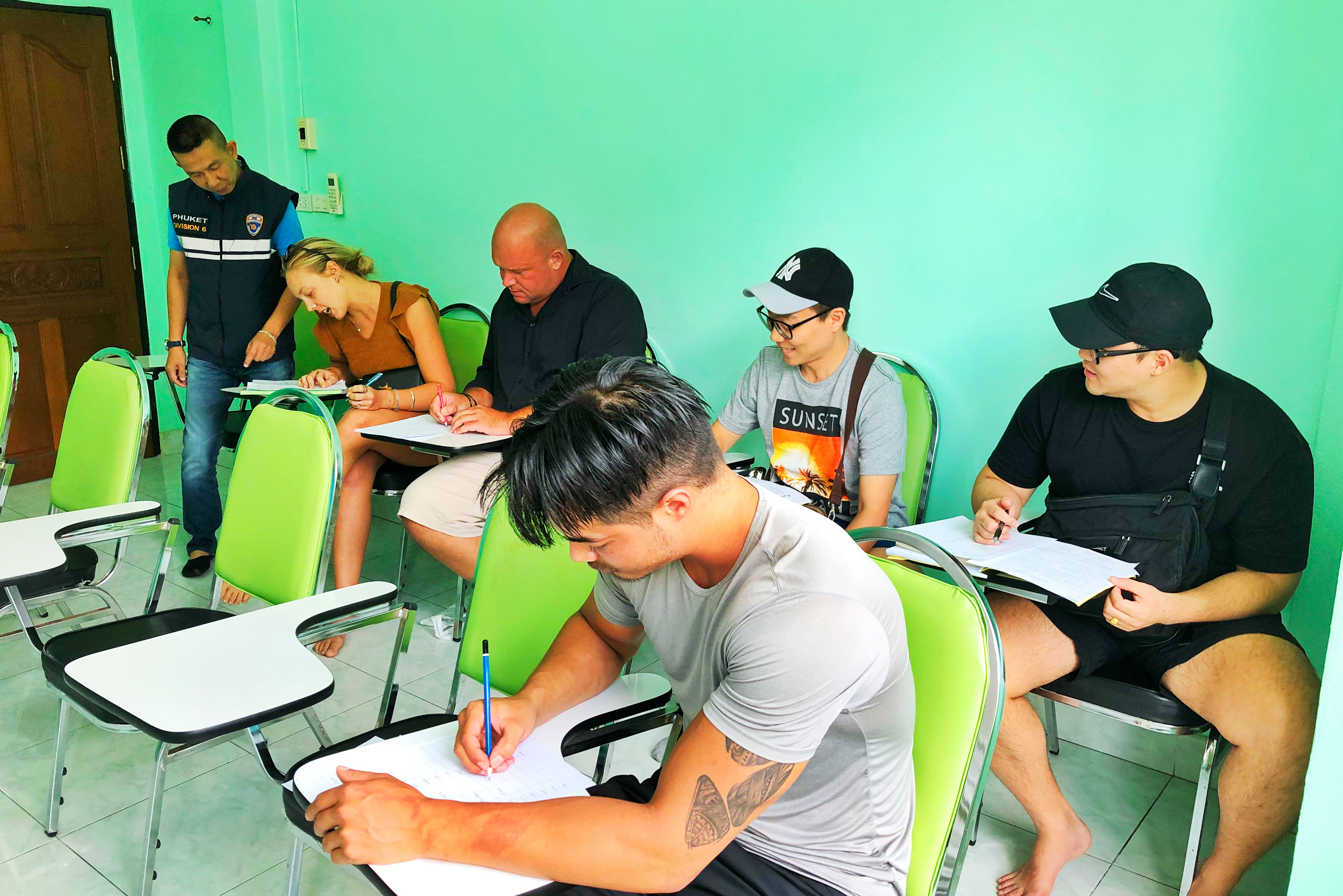 genius ed visa learn thai class