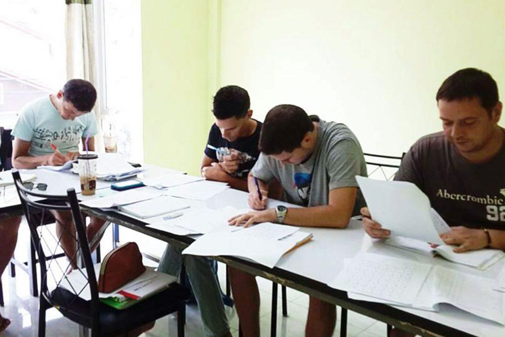 thai group lesson