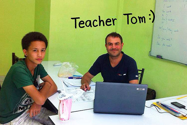 tefl teacher training tom