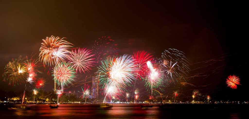 new years eve patong beach fireworks